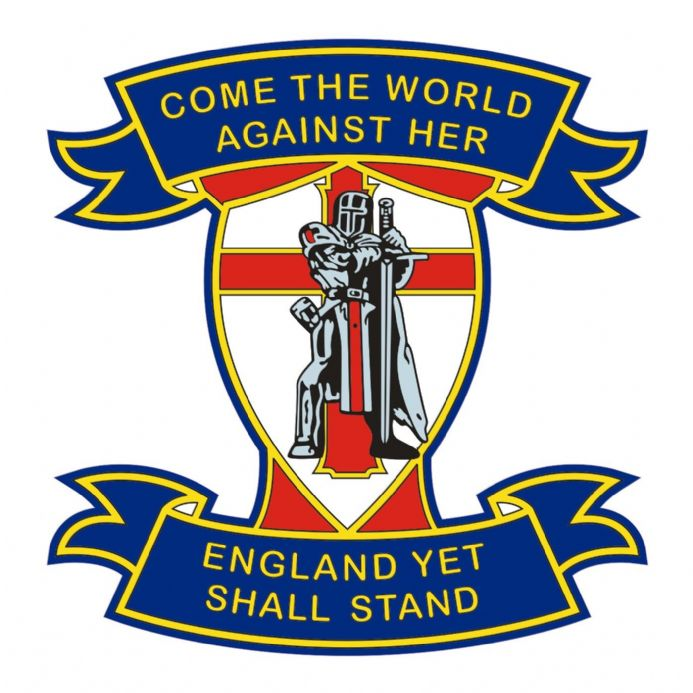 England Car Sticker